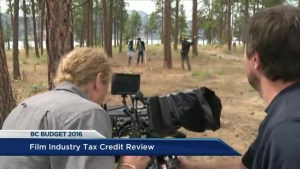 B.C. film industry tax credit to go under review