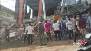 Powerful earthquake rocks Indonesia, nearly 100 dead
