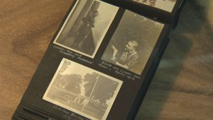 Century-old photo album shows Manitoba family's war history