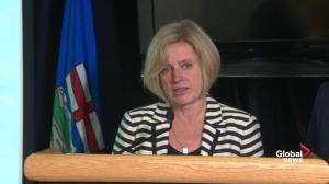 Rachel Notley: The wildfire did grow on Thursday, but rate of growth has slowed