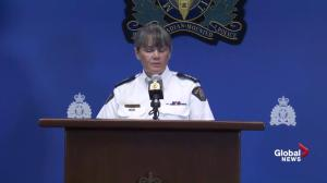 RCMP provide update on BC wildfire evacuation efforts