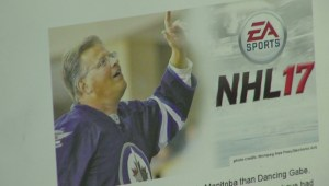 Winnipeg Jets fans trying to get 'Dancin' Gabe' on national stage