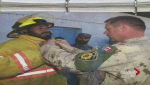 Langford firefighters support Afghan fire chief