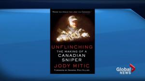 Author describes incredible story in 'Unflinching: The Making of a Canadian Sniper'
