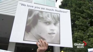 Vigil for Hudson Brooks
