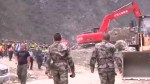 Search for survivors continue after landslide in China