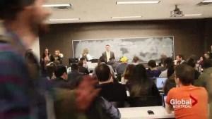 Concordia students challenge possible strike-action sanctions