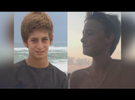 Family says in statement they're 'staying positive' as search continues for Florida teens