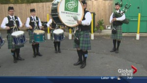 50th anniversary for pipe band