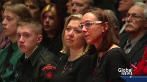 Const. Wynn's regimental funeral