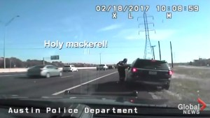 Police chief outraged after dashcam video shows Texas cop let off for speeding