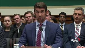 EXTENDED: Swimmer Michael Phelps addresses Congressional hearing on anti-doping