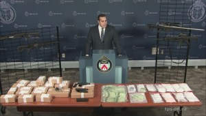 3 men, 1 woman face 165 charges in Toronto guns and drugs bust