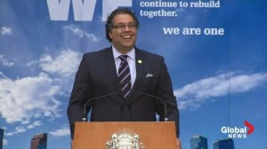 Extended: Mayor Nenshi commemorates 1-year anniversary of Calgary floods