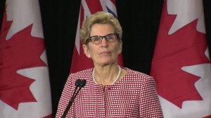 'Violent reaction' doesn't help anyone, resolve issues: Wynne comments on Uber protest