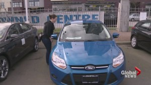 Electric car borrowing system for Montreal
