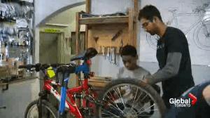 Empowering youth through bike mechanics