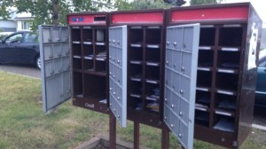 Community mailbox found open in northeast Calgary
