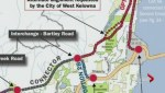 A proposed bypass above the City of West Kelowna is causing concerns