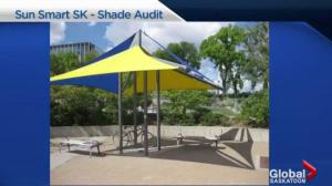 Sun Smart Saskatchewan calls for more shade at River Landing