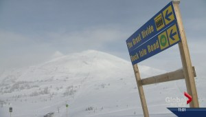 Sunshine Village skier transported to hospital after nearly 550-metre fall