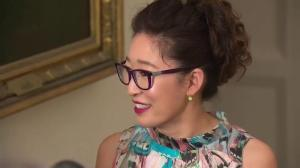 White House state dinner: Sandra Oh arrives