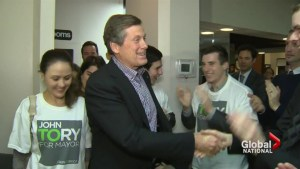 John Tory wins Toronto mayor race