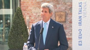 Kerry comments on development of Iran nuclear