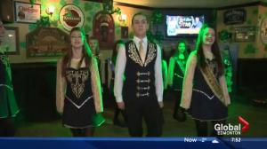 Celebrating St. Patrick's Day in Edmonton: Irish dancing