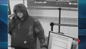 Suspect sought in Moose Jaw bank robbery