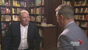 Doug Ford attacks mainstream media in new book about his late brother