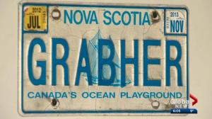 Alberta man talks about dad's personalized plates prompting complaints