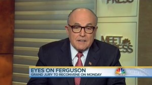 "White police officers wouldn't be needed if black people ""weren't killing each other"": Giuliani"