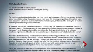 Allegations of racism in Vancouver's theatre community