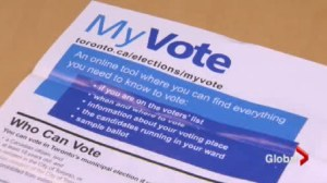 Problems at advance polls during Toronto election