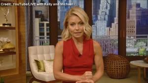 Kelly Ripa returns to  'Live' and opens up about Michael Strahan's departure