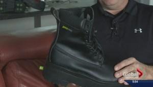 Okanagan man creates high-tech winter boots
