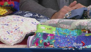 Quilts for local shelters