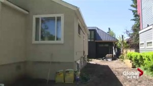 Creative housing options pop up in Calgary on top of garages, in backyards