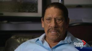 'The community is already movie friendly': actor Danny Trejo praises Edmonton film industry