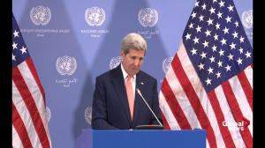 John Kerry: Diplomacy always has to be first choice