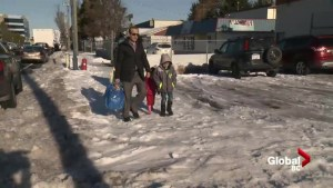 Snow and ice making Surrey Food Bank deliveries difficult