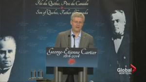 Harper in Quebec