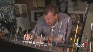 Up-and-coming New Brunswick artist shares his talent and heart with the world