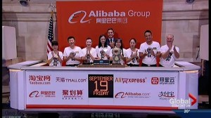 Alibaba debuts as publicly-traded company