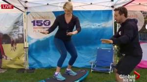 ParticipAction 150 surfing