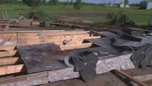 RAW: Aftermath of tornado that tore through Long Plain First Nation