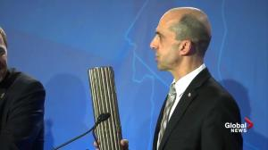 Steven Blaney pulls out prop during leadership debate, gets good laugh