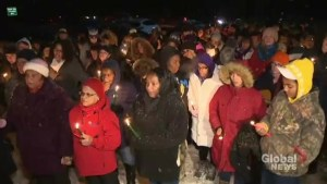 Candlelight vigil held in Upper Big Tracadie, N.S.