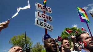 Historic ruling from U.S. Supreme Court legalizes gay marriage across the country